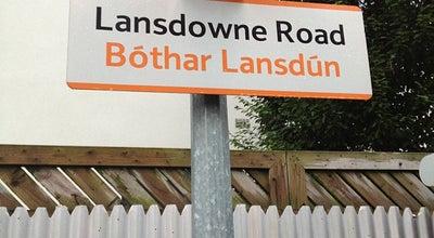 Photo of Train Station Lansdowne Road DART Station at Lansdowne Rd., Dublin 4, Ireland