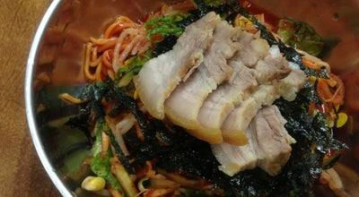 Photo of Ramen / Noodle House 자매국수 at 삼성로 67, 제주시 690-834, South Korea