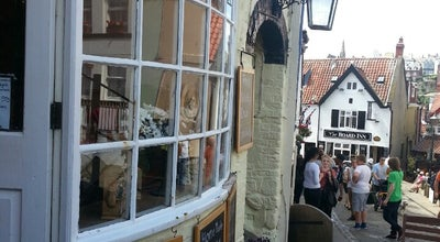 Photo of Tea Room Abbey Steps Tea Rooms at 117, Church Street, Whitby YO22 4DE, United Kingdom