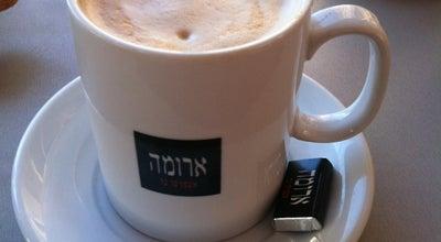 Photo of Coffee Shop Aroma (ארומה) at 75 Ben Gurion Rd., Бат-Ям, Israel