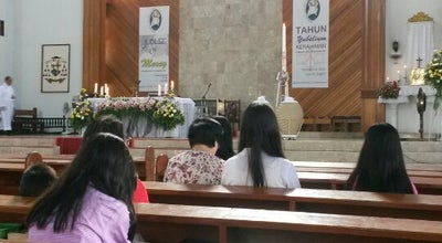 Photo of Church Gereja Katolik St Maria Bunda Hati Kudus Palu at Jl Tangkasi, Palu Timur, Indonesia