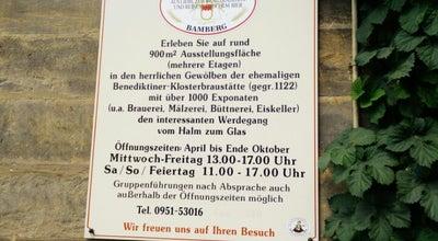 Photo of History Museum Brauereimuseum at Michaelsberg 10f, Bamberg 96049, Germany
