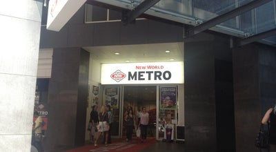 Photo of Supermarket New World Metro at 125 Queen St, Auckland 1010, New Zealand