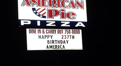 Photo of Pizza Place American Pie Pizza at 9709 Maumelle Blvd, North Little Rock, AR 72113, United States