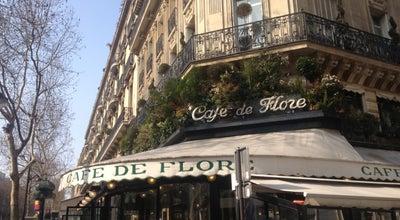 Photo of Cafe Café de Flore at 172 Boulevard Saint-germain, Paris 75006, France