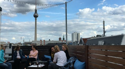 Photo of Roof Deck Dachterrasse | Hotel Amano at Auguststr. 43, Berlin 10119, Germany