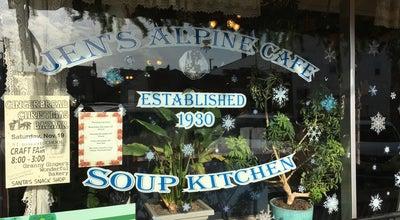 Photo of Cafe Jen's Alpine Cafe & Soup Kitchen at 117 4th St, Baraboo, WI 53913, United States