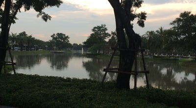 Photo of Lake The Lake at Nantawan Village at Bang Mueang, Thailand