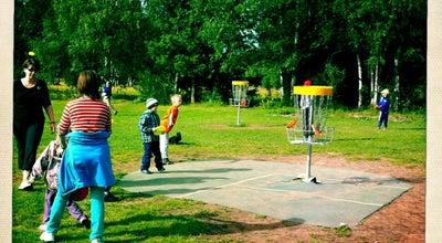 Photo of Disc Golf Hiirosen Frisbeegolfrata at Urheilupuistontie, Oulu, Finland