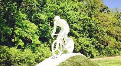 Photo of Monument / Landmark Пам'ятник велосипедисту at Білгородське Шосе, Харків, Ukraine