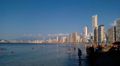 Photo of Beach Rincon de Loix at Benidorm, Spain