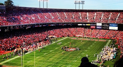 Photo of Football Stadium Candlestick Park at 490 Jamestown Ave, San Francisco, CA 94124, United States