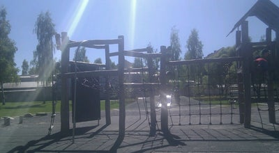 Photo of Playground Puusepänpuiston leikkipaikka at Oulu, Finland