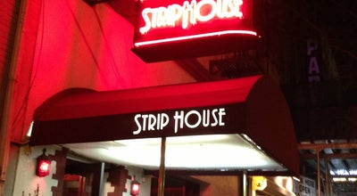 Photo of Steakhouse Strip House at 13 E 12th St, New York, NY 10003, United States