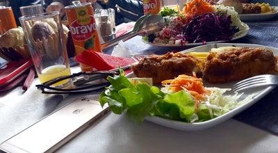 Photo of American Restaurant Restorant Malboro Reqan at Reqan, Kosovo