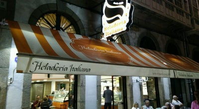 Photo of Ice Cream Shop Heladería Italiana at Av. Montoto, 9, A Coruña 15001, Spain