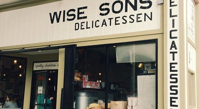 Photo of Jewish Restaurant Wise Sons Jewish Delicatessen at 3150 24th St, San Francisco, CA 94110, United States
