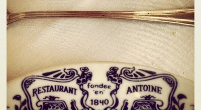 Photo of French Restaurant Antoine's at 713 Saint Louis St, New Orleans, LA 70130, United States