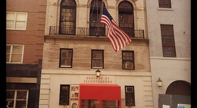 Photo of Tourist Attraction Society of Illustrators at 128 E 63rd St, New York, NY 10065, United States