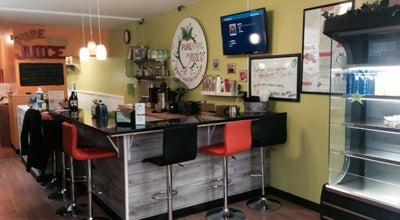 Photo of Juice Bar Pure Raw Juice Organic Juice Bar & Cafe at 1401 Riverside Ave, Baltimore, MD 21230, United States