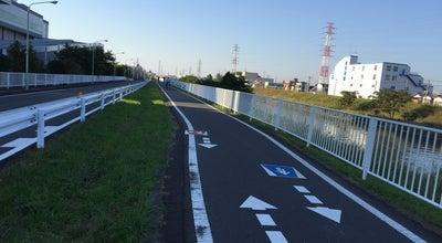 Photo of Trail 芝川サイクリングロード at 朝日町, 川口市, Japan