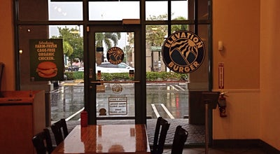 Photo of American Restaurant Elevation Burger at 16010 Nw 57th Ave #138, Miami Lakes, FL 33014, United States