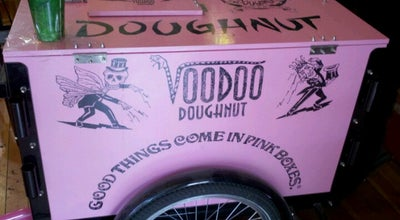 Photo of Donut Shop Voodoo Doughnut Tres at 20 E Broadway, Eugene, OR 97401, United States