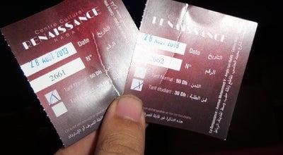 Photo of Indie Movie Theater La Renaissance at 266, Bd Mohammed 5, Rabat, Rabat 10000, Morocco