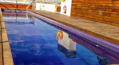 Photo of Pool Rooftop Pool Melon District Marina at Barcelona, Spain