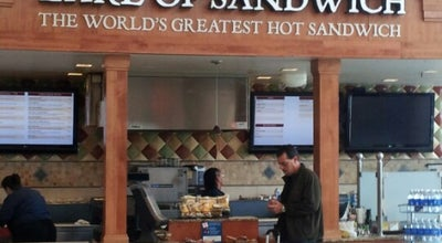 Photo of Sandwich Place Earl of Sandwich at 601 Rogell Drive, North Terminal, Detroit, MI 48242, United States