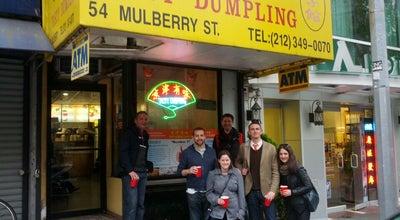 Photo of Dumpling Restaurant Tasty Dumpling at 54 Mulberry St, New York, NY 10013, United States