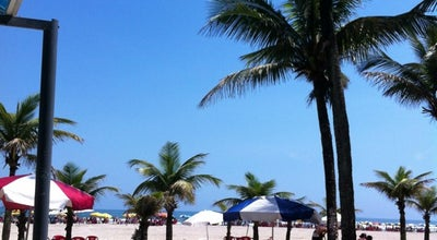 Photo of Beach Praia Guilhermina at Av. Pres. Castelo Branco, Praia Grande 11701-750, Brazil
