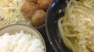 Photo of Ramen / Noodle House 釜揚 人力うどん 久留米医大前店 at 旭町55-1, 久留米市 830-0011, Japan