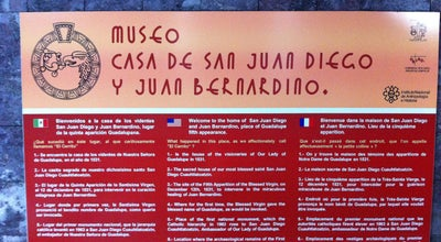 Photo of History Museum Museo Casa De San Juan Diego Y Juan Bernardino at Mexico