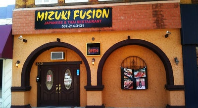 Photo of Sushi Restaurant Mizuki Fusion at 119 W Bridge St, Owatonna, MN 55060, United States