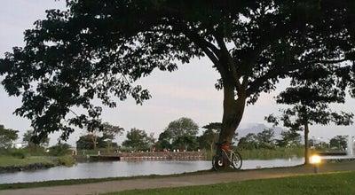 Photo of Lake The Solenad Lake at Nuvali Blvd, Sta. Rosa City, Philippines