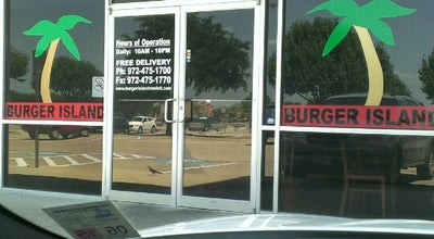 Photo of Burger Joint Burger Island at 8809 Lakeview Pkwy, Rowlett, TX 75088, United States