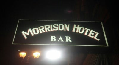 Photo of Restaurant Morrison Hotel at 719 Se Morrison St, Portland, OR 97214, United States