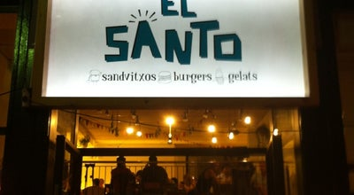 Photo of Burger Joint El Santo at Sant Josep, 30, Sitges 08870, Spain