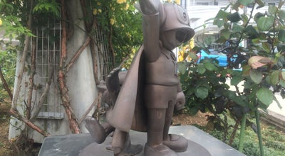 Photo of Monument / Landmark パーマンとブービー像 at 多摩区宿河原2-46, 川崎市, Japan