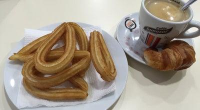 Photo of Cafe Cafeteria Ortiz at Calle De Jaén, 2, Nerja 29780, Spain