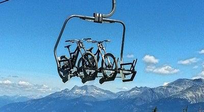 Photo of Park Whistler Mountain Bike Park at Whistler Mountain, Whistler, Br, Canada