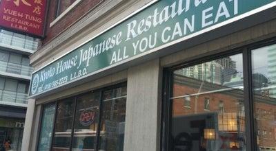 Photo of Sushi Restaurant Kyoto House Japanese Restaurant at 143 Dundas St. West, Toronto, ON, Canada