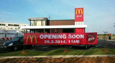 Photo of Fast Food Restaurant McDonald's / McCafé at Tabuan Tranquility Commercial Centre, Kuching 93350, Malaysia