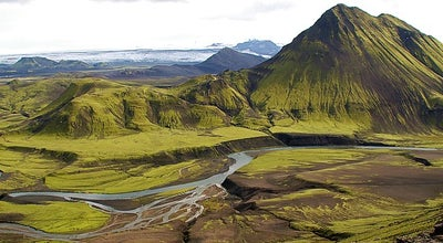Photo of Mountain Þórsmörk at South, Iceland