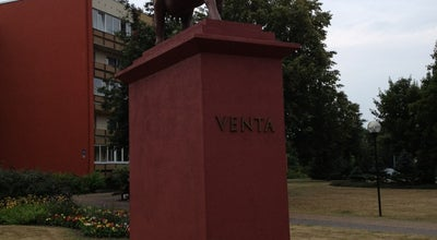 Photo of Historic Site #GovjuParade 2012 | Govs koloss (Cowlosus) at Lielais Prospekts, Ventspils LV 3601, Latvia