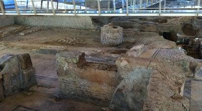 Photo of Historic Site Domus del Chirurgo at Piazza Ferrari, Rimini, Italy