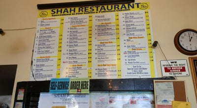 Photo of Indian Restaurant Shah Restaurant at 962 W El Camino Real, Sunnyvale, CA 94087, United States