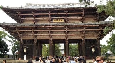 Photo of Buddhist Temple 東大寺 南大門 at 雑司町406-1, 奈良市 630-8587, Japan