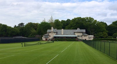 Photo of Tennis Court Longwood Cricket Club at 564 Hammond St, Chestnut Hill, MA 02467, United States